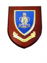 Queens Royal Hussars Regimental Army Wall Plaque